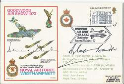 WW2 aces Sir Douglas Bader DSO DFC and AVM Johnnie