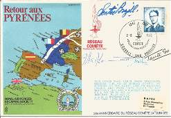 Retour aux Pyrenees RAFES signed FDC SC2. Taken from