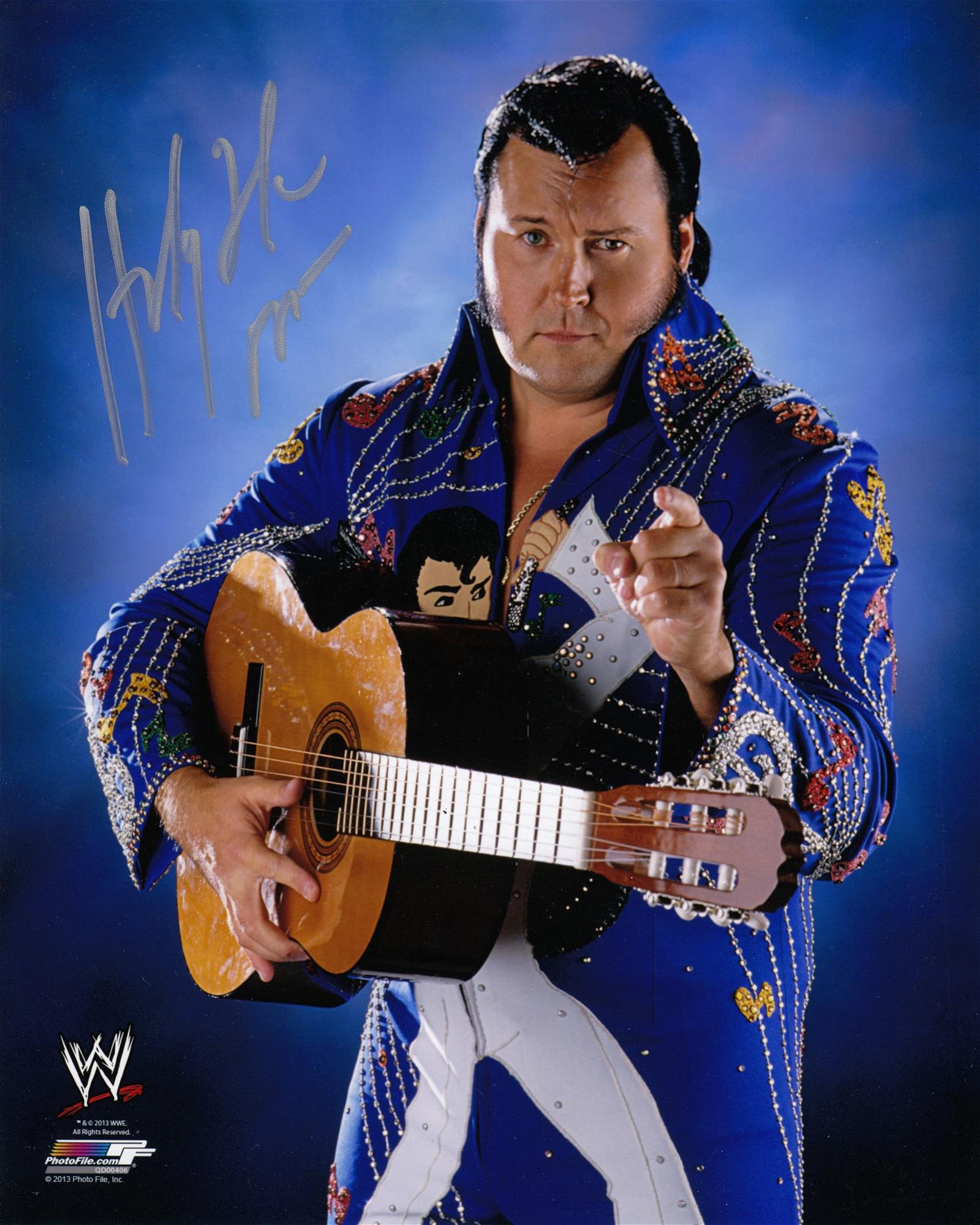 Blowout Sale! WWE/WWF The Honky Tonk Man hand signed
