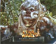 Michael Henbury signed Star Wars 10x8 colour photo.