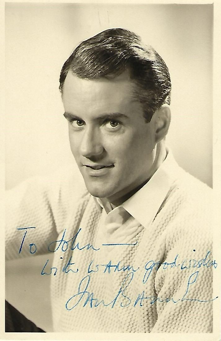 Ian Bannen signed vintage 6 x 4inch b/w photo to John,