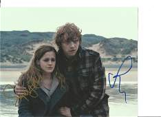 Harry Potter Hermione Granger and Rupert Grint double