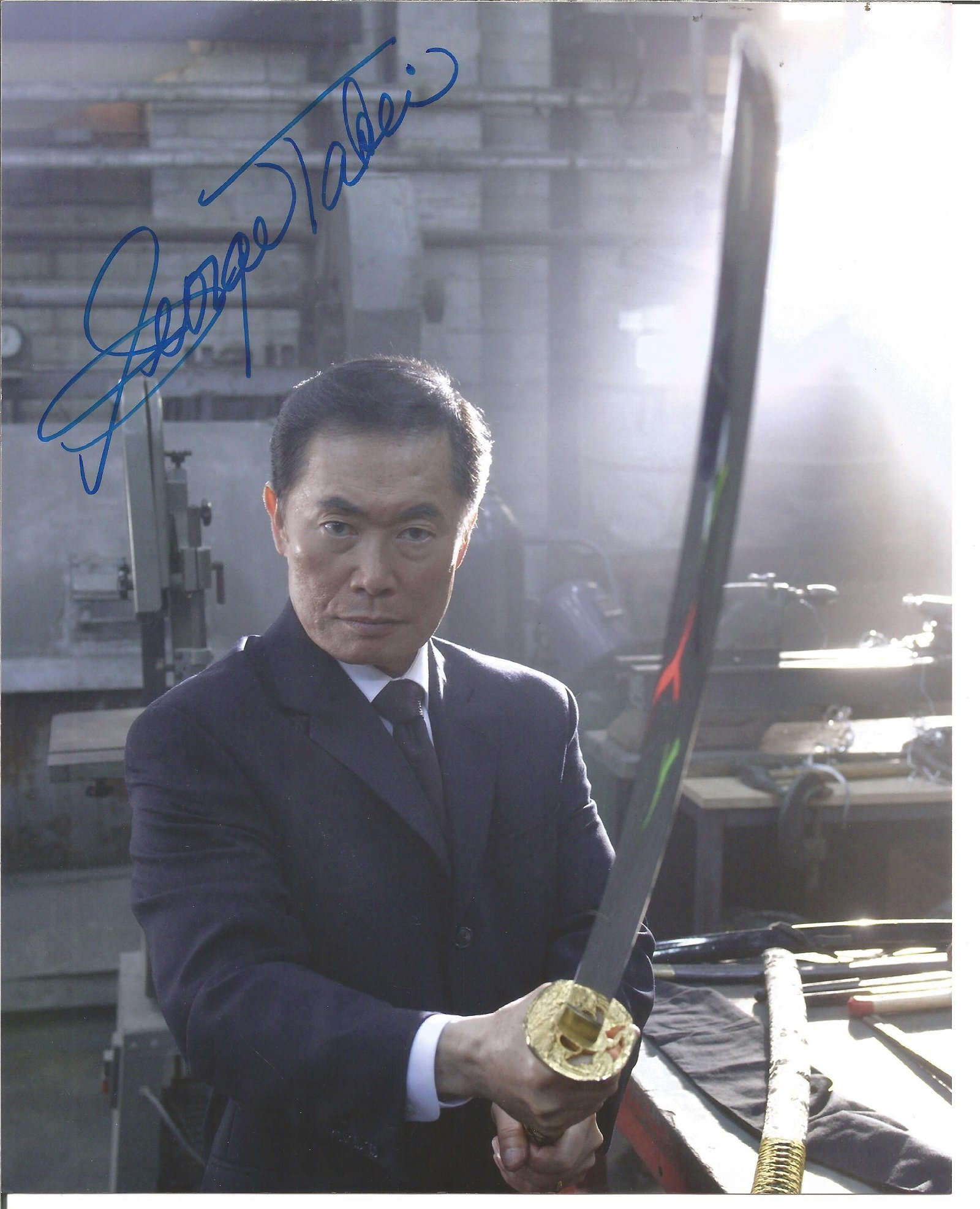 Blowout Sale! Heroes George Takei hand signed 10x8