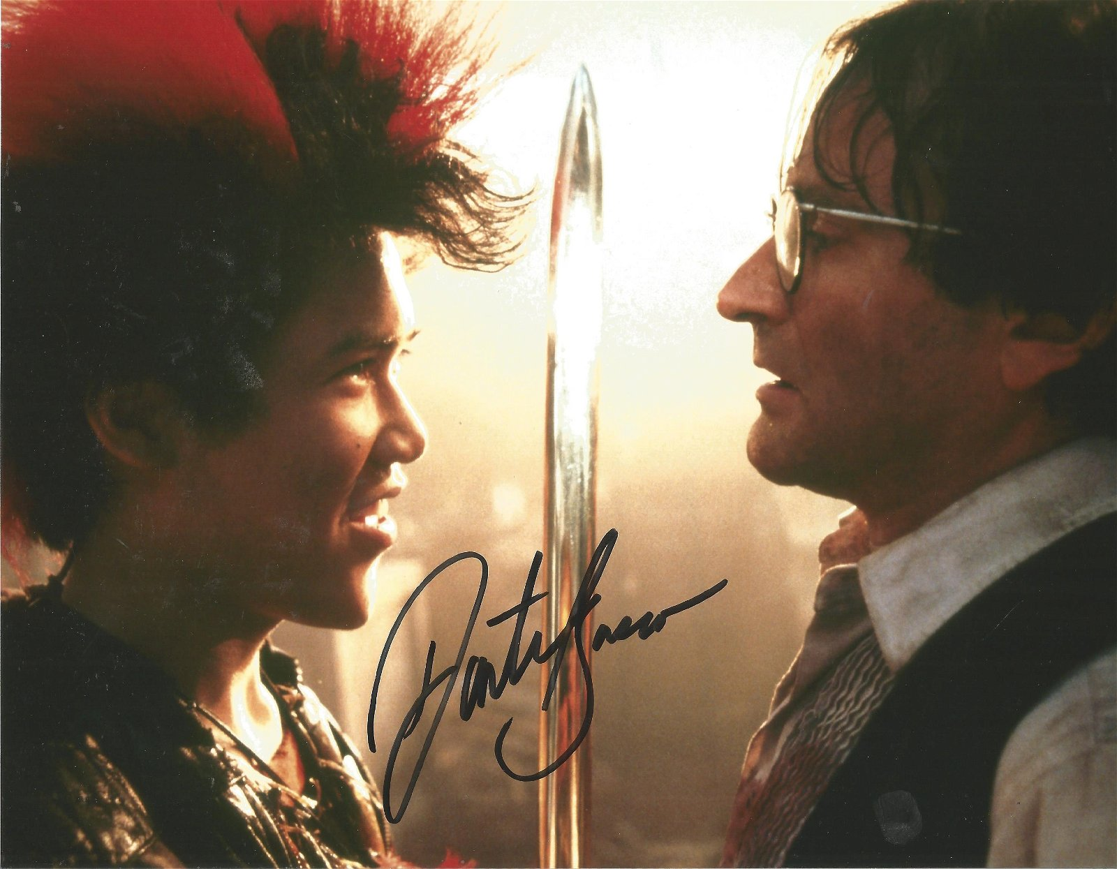 Blowout Sale! Hook Dante Basco hand signed 10x8 photo.