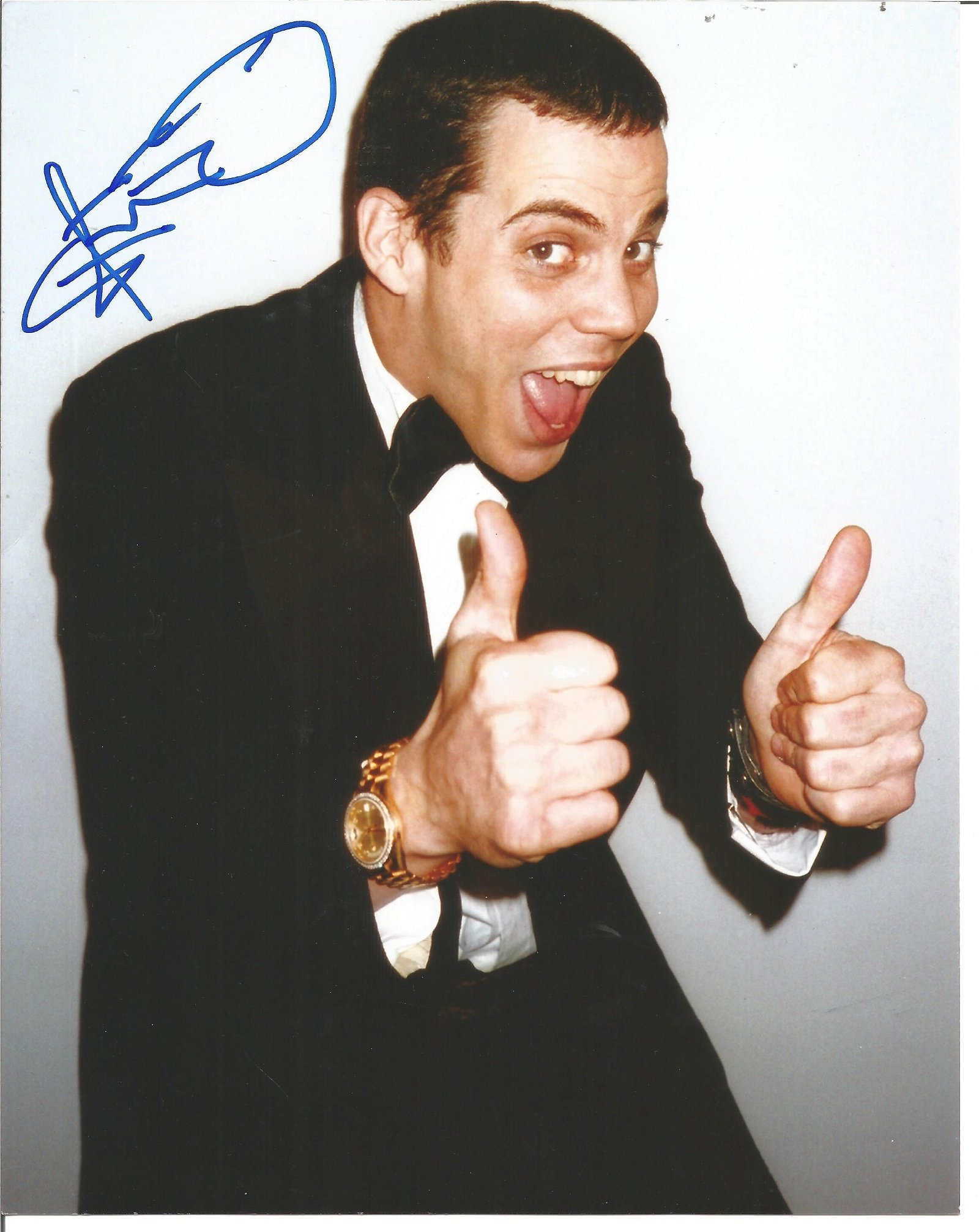 Blowout Sale! Jackass Steve-O hand signed 10x8 photo.
