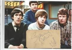 Spencer Davis Group Signed Vintage Album Page By