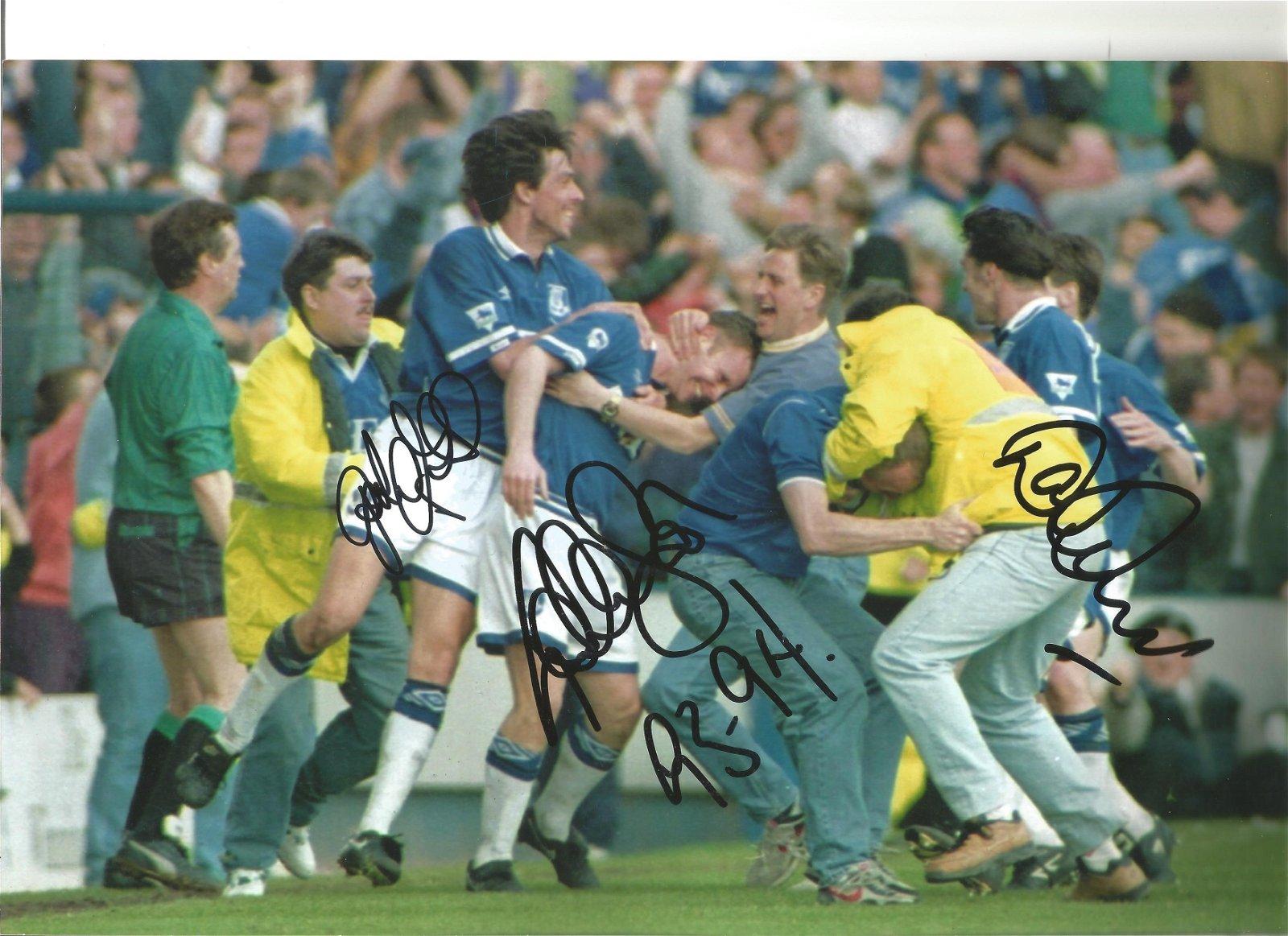 Gary Ablett, Graeme Stuart and David Unsworth Multi