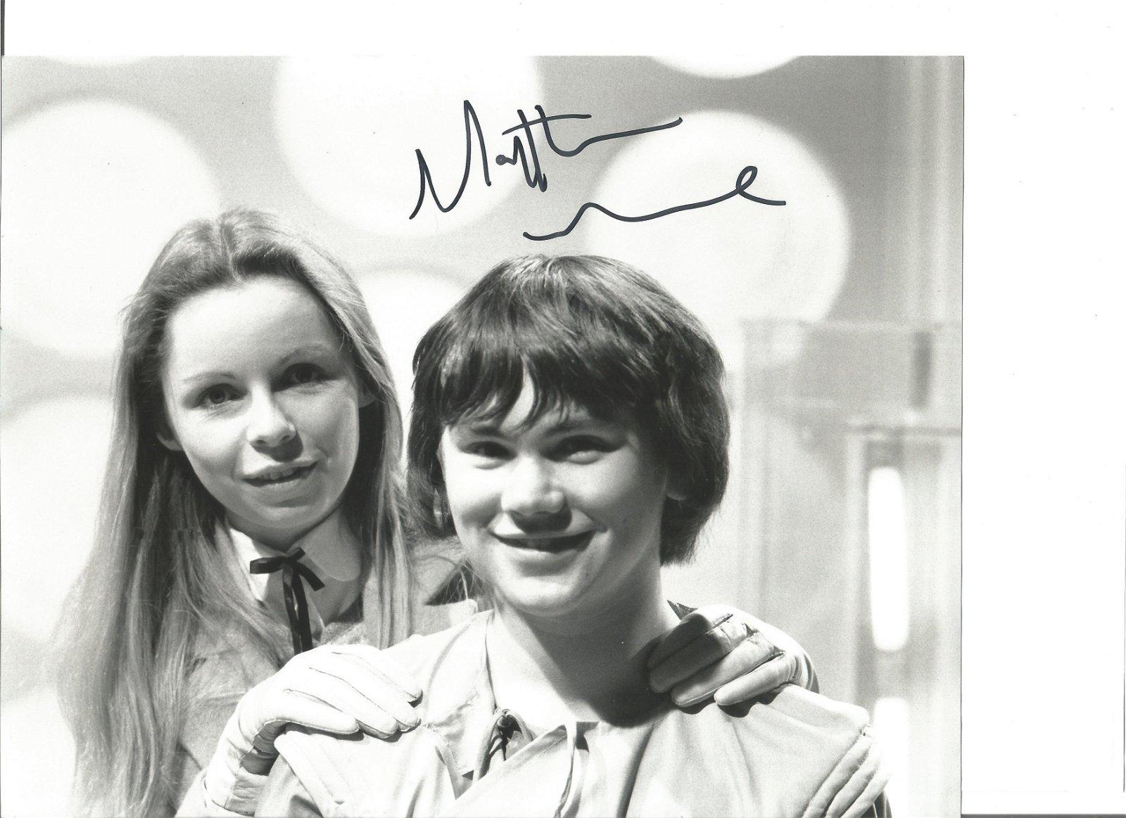 Mathew Waterhouse 8x10 signed black and white photo