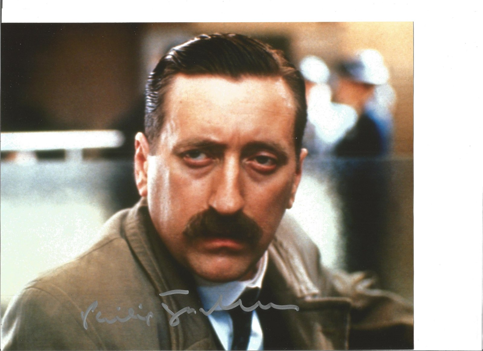 Philip Jackson 8x10 signed colour photo pictured as