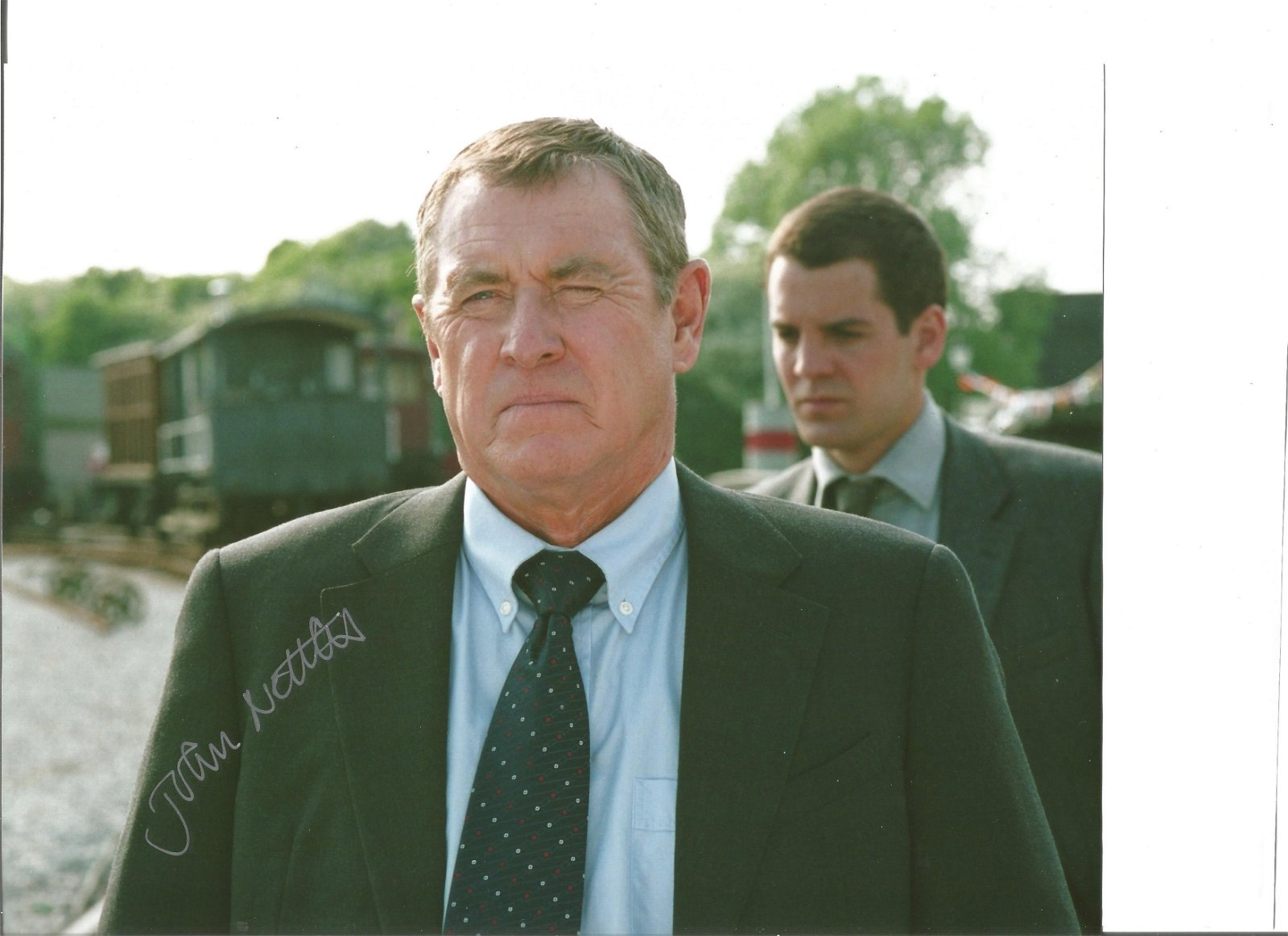 John Nettles 8x10 signed colour photo pictured in his
