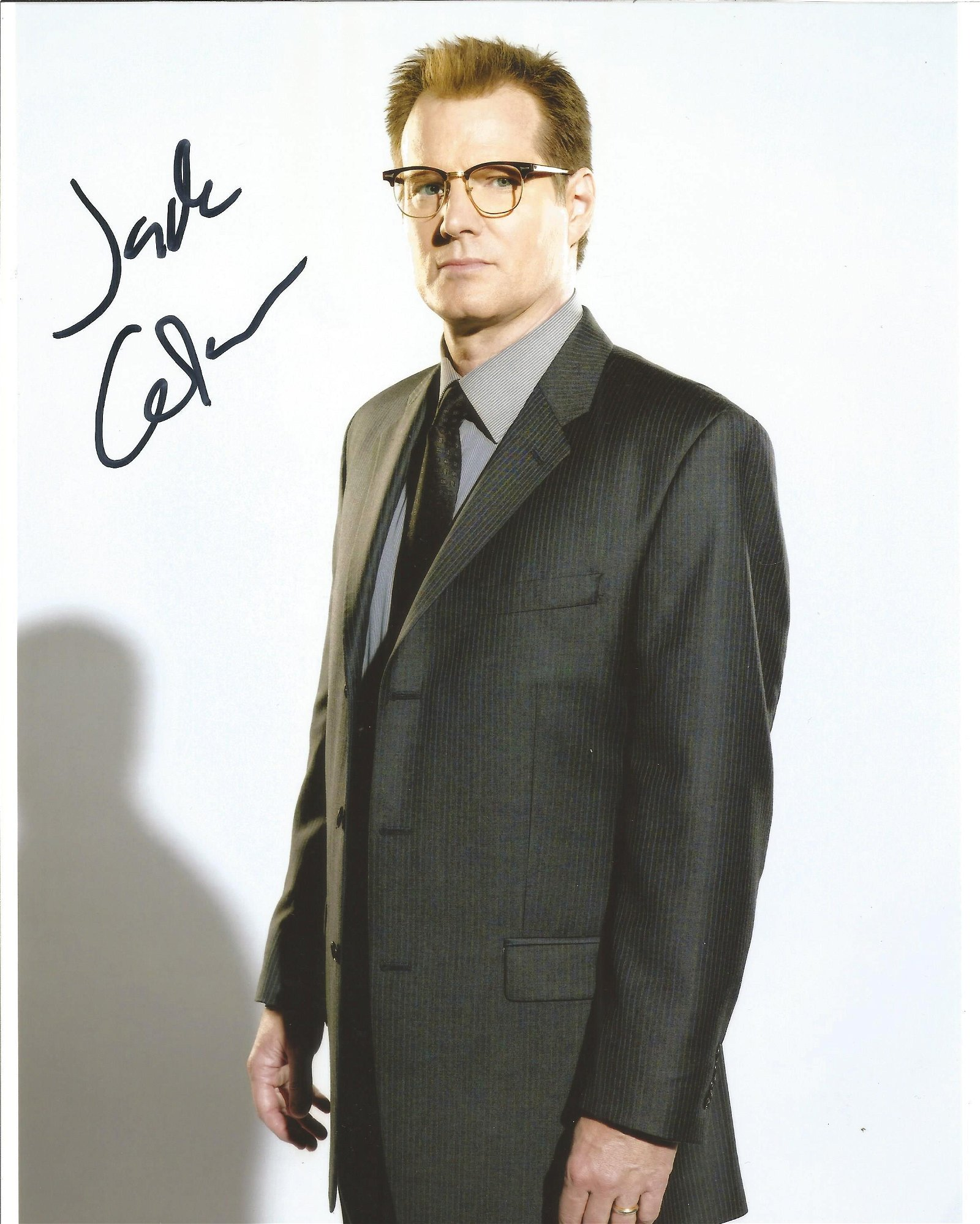 Jack Coleman signed 10x8 colour photo, American actor