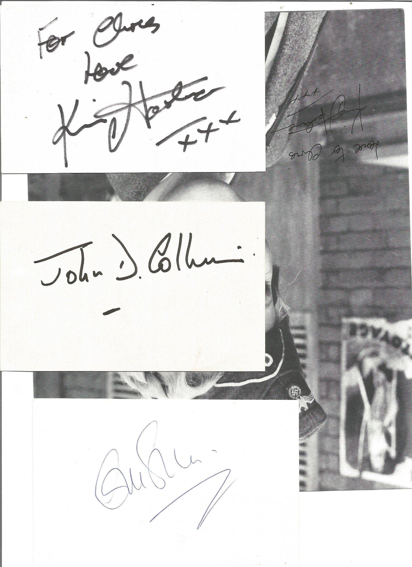 Allo Allo collection signed 10x8 b/w photo by Kim