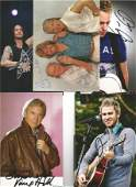 Music Collection 5x signed 6x4 colour photographs of