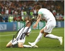 Kieran Trippier Signed England 8x10 Photo. Good