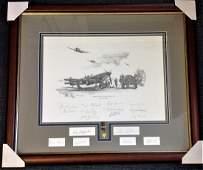 Readiness at Dawn framed WW2 print by Nicolas Trudgian