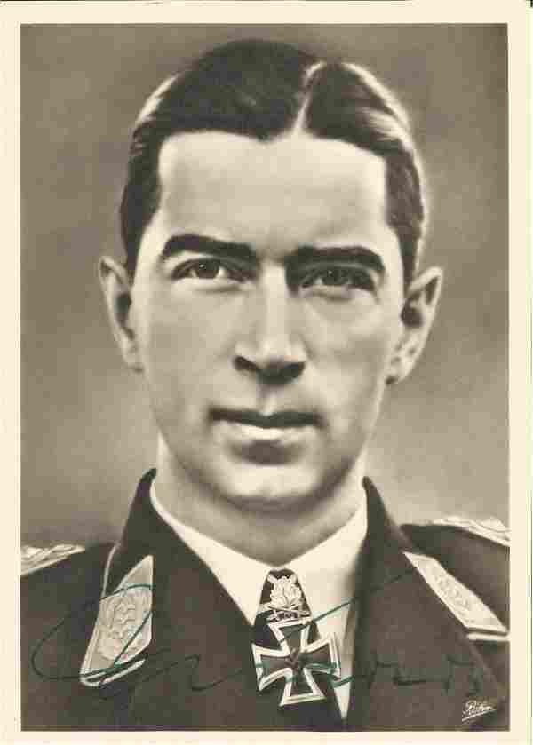 Oberst Werner Molders, KC, WW2 Luftwaffe, 642 combat