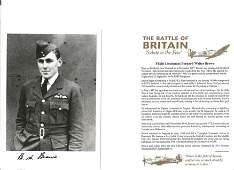 Flt Lt Bernard Walter Brown Battle of Britain fighter