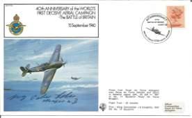 Major GeorgPeter Schorsch Eder KC WW2 Luftwaffe An