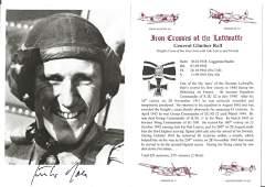 General Gunther Rall KC WW2 Luftwaffe 621 combat