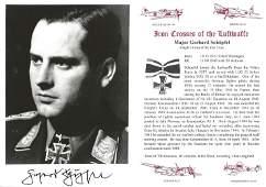 Major Gerhard Schopfel KC WW2 Luftwaffe Battle of