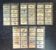 RAF collection full set of 50 players cigarette cards