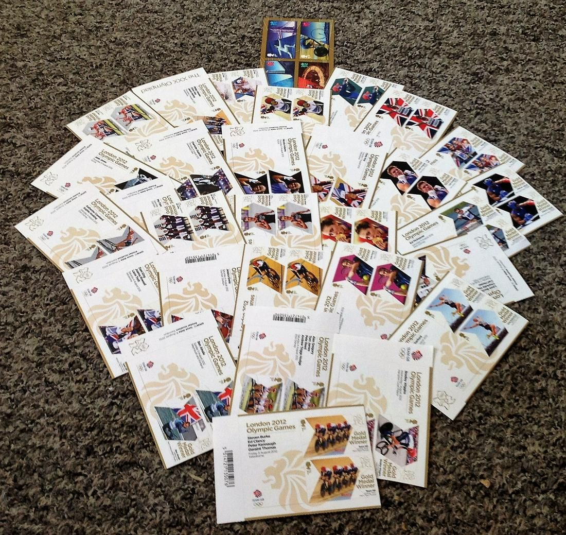 2012 London Olympic Games stamp collection. Mint