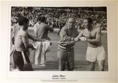 Football George Cohen signed 20x16 black and white