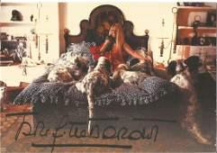 Brigitte Bardot signed 6x4 colour photo. Good