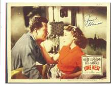 June Haver signed 11x8 colour photo of a lobby card