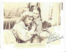 June Haver signed 11x8 sepia photo of a lobby card