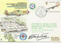 WW2 fighter ace Robert Stanford Tuck signed RAF Museum