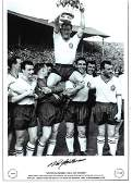 Nat Lofthouse Signed Bolton Wanderers 1958 Fa Cup