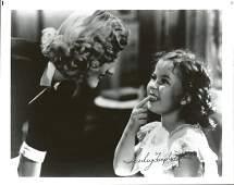 Shirley Temple Black signed 10 x 8 inch b w photo. Good