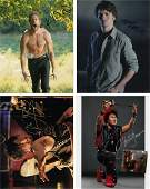 Blowout Sale! Lot of 4 sci-fi fantasy hand signed 10x8