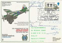 Rare multiple signed WW2 RAF Escaping Society cover