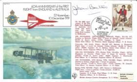 Jean Batten aviation pioneer signed RAF cover flown by