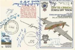 WW2 Luftwaffe aces multiple signed RAF Thorney Island