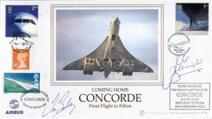 Concorde final flight to Filton cover which was
