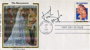 Kirk Douglas Performing Arts cover signed by Hollywood