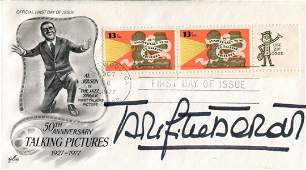 Brigitte Bardot Movies FDC signed by actress and