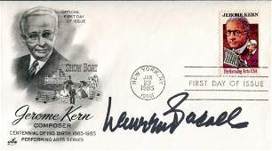 Lauren Bacall Performing Arts cover signed by
