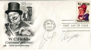 Jack Klugman 1980 Performing Arts commemorative