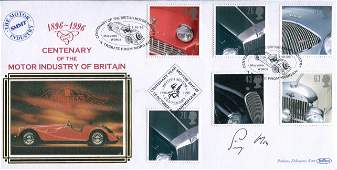 Stirling Moss Benham Motor Industry of Britain FDC