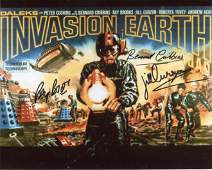 Doctor Who multi signed 8x10 inch photo signed by