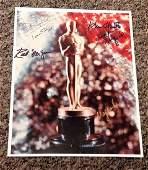 Oscars multi signed 10x8 colour photo six legendary
