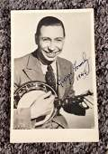 George Formby signed 5x4 vintage black and white photo