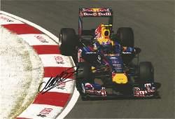 Motor Racing Mark Webber signed 12x8 colour photo