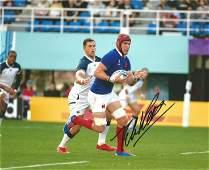 Rugby Union Bernard Le Roux signed 10x8 colour photo