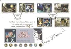 Alan Bean signed FDC 40th Anniversary Man On the Moon