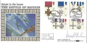 WW2 617 Sqn CO Leonard Cheshire VC signed Benham